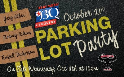 Gary Allan Performs at Parking Lot Party for Houston Food Bank
