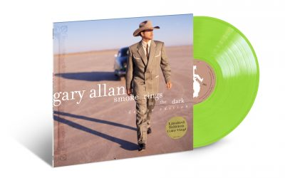 GARY ALLAN CELEBRATES 20th ANNIVERSARY OF SMOKE RINGS IN THE DARK, WITH NEW DELUXE VINYL EDITION